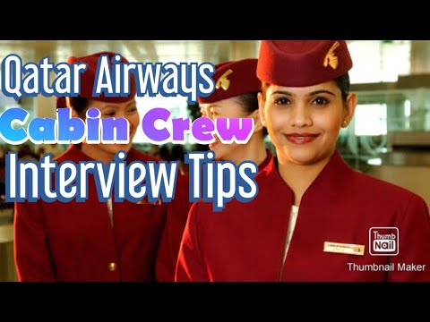 QATAR AIRWAYS CABIN CREW INTERVIEW PART 1...||PINK VANITY