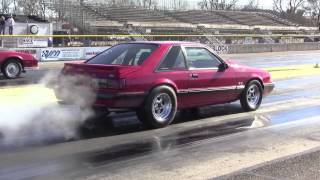 1991 Mustang LX - 9.94 @140 1/4 Mile Pass