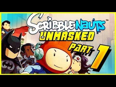 Scribblenauts Unmasked! Episode 1 Gotham City