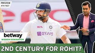 2 Centurions for INDIA in 4th Test | Betway Mission Domination | 4th Test Preview | Aakash Chopra