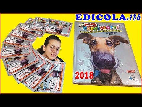 AMICI CUCCIOLOTTI 2018 Album bustine e sorpresa (Edicola by Giulia Guerra)
