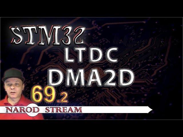 dma2d video, dma2d clip