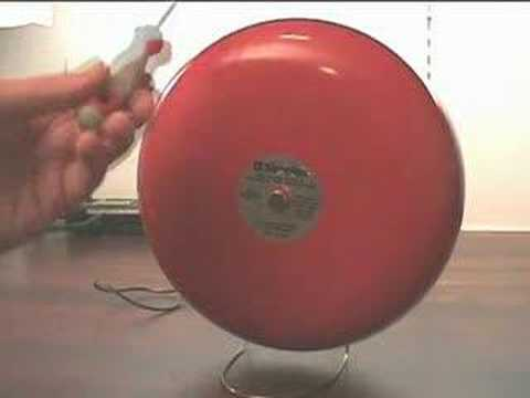 Fire Alarm Bell Alarm Clock 2 - Worlds Loudest Alarm Clock? - YouTube