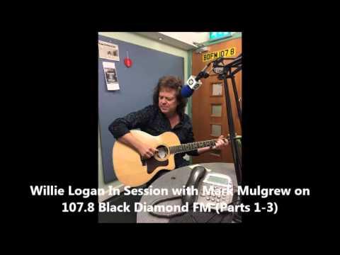 Willie Logan 'Mr Orange Peel' Session with Mark Mulgrew on 107.8 Black Diamond FM