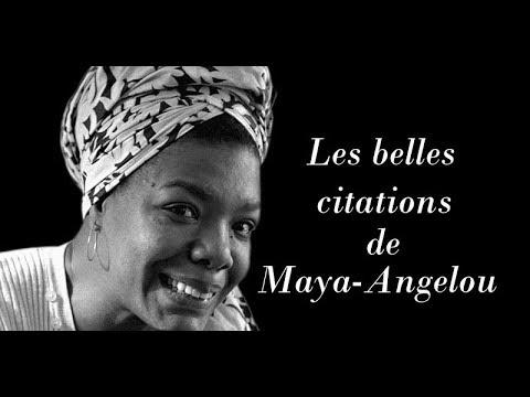 Les Belles Citations De Maya Angelou Youtube