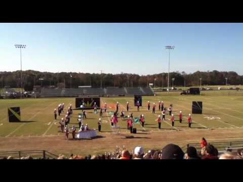 East Wilkes High School Cardinal Pride Marching Band - North Davidson 2012