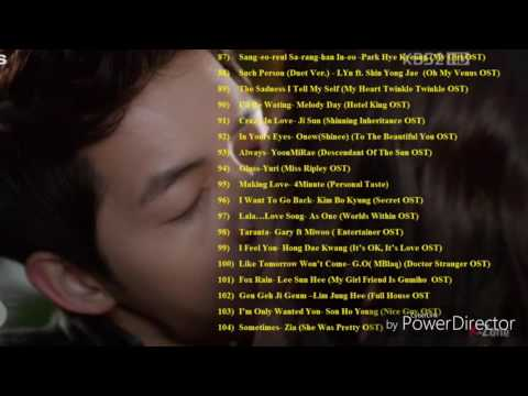 The Best OST Of Korean Drama & Film Part 5