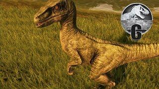 Jurassic World Evolution - Part 6 - HATCHING A RAPTOR!