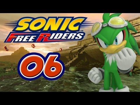 Sonic Free Riders #6 [XBox 360] - Team Babylon vs. Team Heroes