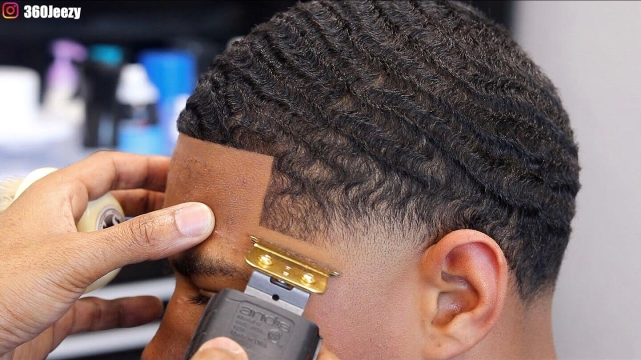 barber tutorial 360 wave mid