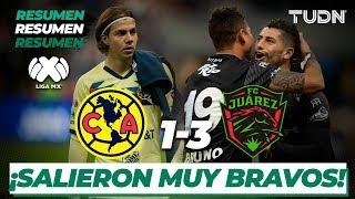 Resumen y Goles | América 1 - 3 FC Juárez | Liga Mx - J-4 CL-2020 | TUDN
