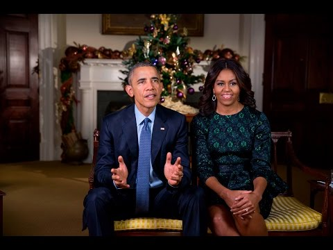 Thumbnail: Weekly Address: Merry Christmas from the President and First Lady