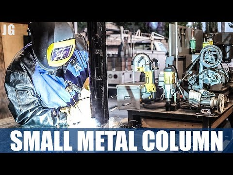 Fabricating & Welding Small Metal Column | JIMBOS GARAGE