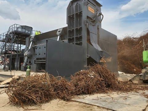 Walk-around heavy scrap shear LEFORT SH1540 - Texas, USA