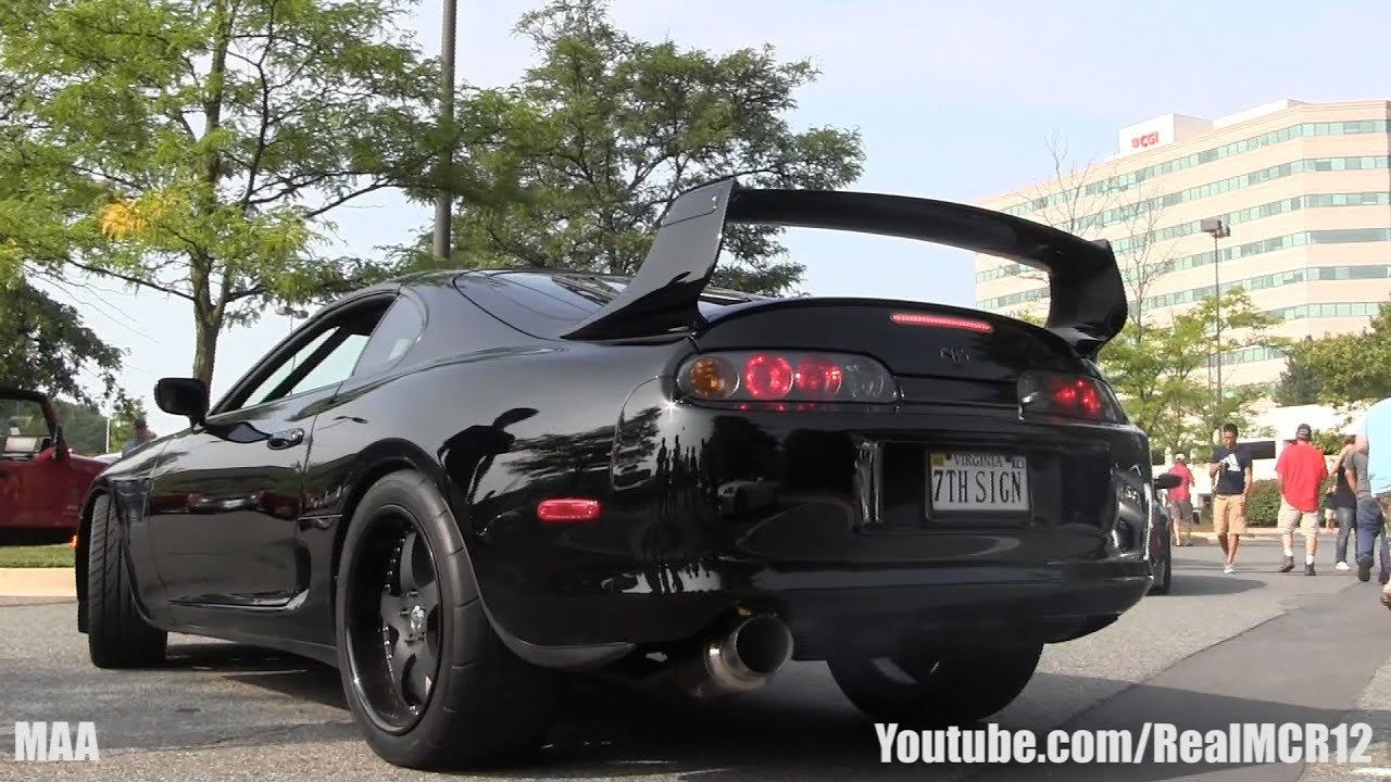 1600hp Toyota Supra 2 Step Rev Youtube
