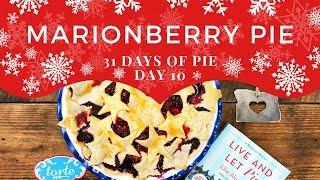 Marionberry Pie Easy Recipe! 🥧31 Days of Pie - Day 10