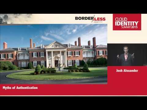 CIS 2015 Tuesday, June 9 - Josh Alexander, Toopher