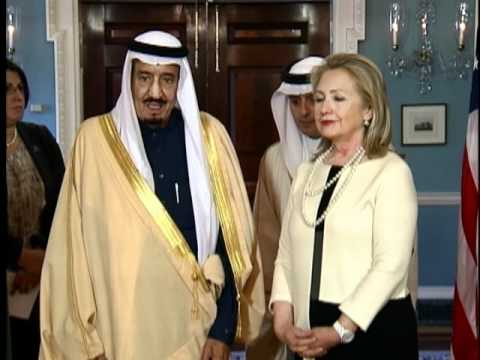 Secretary Clinton Delivers Remarks With Saudi Arabian Defense Minister Salman