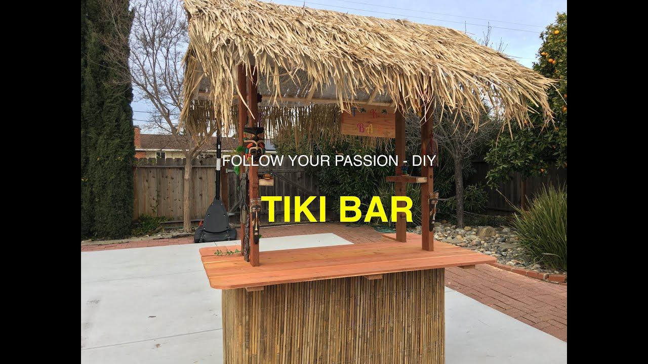 Diy Weekend Project Tiki Bar Youtube