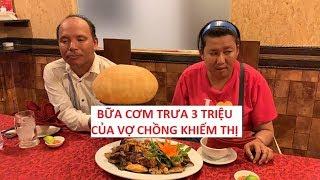 Bữa ăn người nghèo (Tập 2): Vợ chồng khiếm thị bán vé số ăn trưa 3 triệu!!!