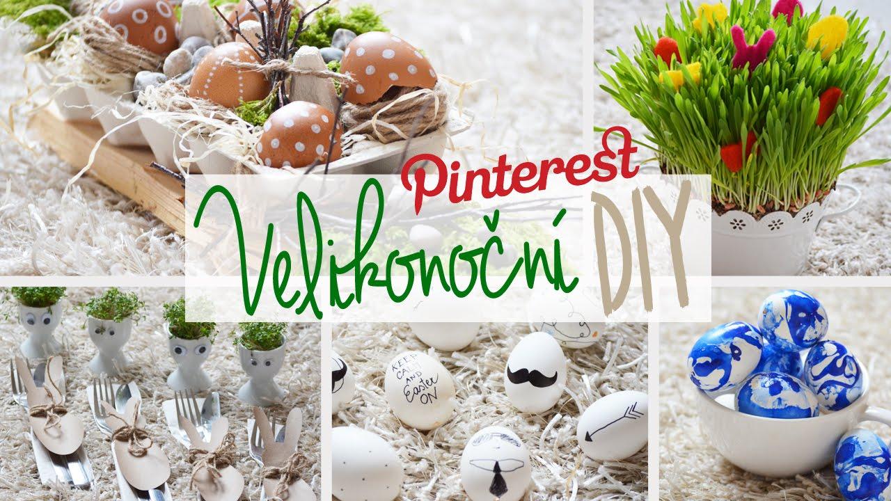 foto de Velikonoční DIY dekorace 6 tipů Pinterest Inspired