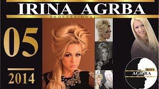 Ирина Агрба - 005 Прическа на длинные волосы. Высокая мода