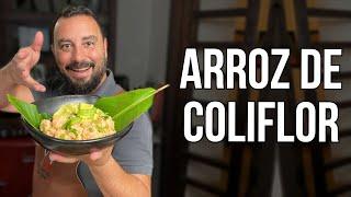 Cómo hacer Arroz de Coliflor Fácil y Saludable | Receta Rápida