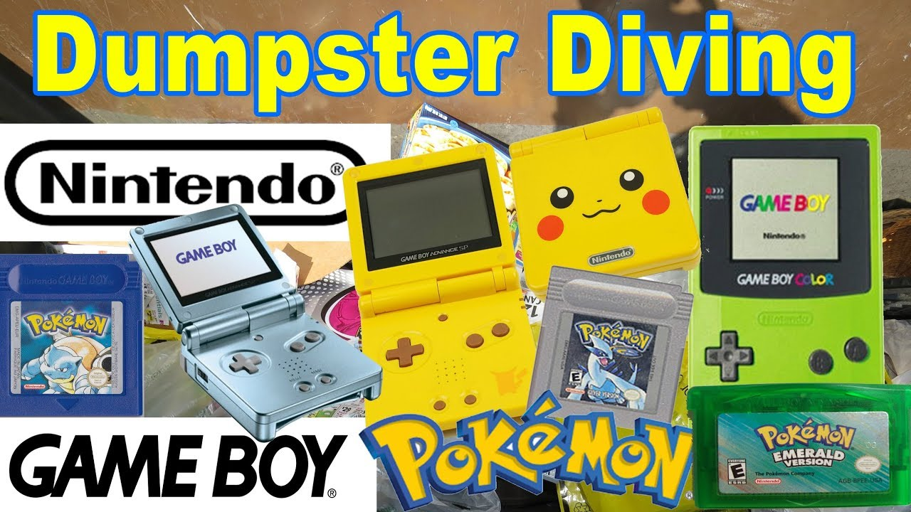 dumpster diving at thrift store nintendo game boy dumpster diving at thrift store 14 nintendo game boy