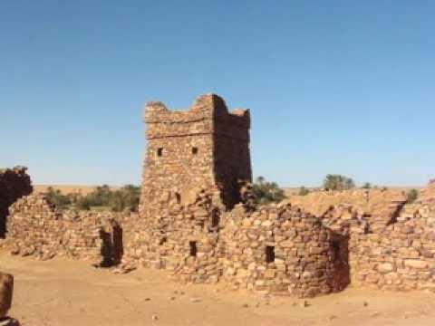 2009 Mauritanie Wadane, La Vielle Ville, Sa Porte et Sa Mosquée, Ouadane