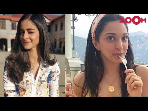 Ananya Panday REVEALS her new look | Kiara Advani enjoys her vacation | Insta Zoom