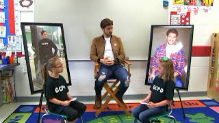 Taft Elementary Welcomes Actor Billy Peck