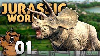 Finalmente lançou! | Jurassic World Evolution #01 - Gameplay Português Dublado PT-BR