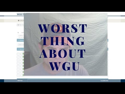 worst-thing-about-western-governors-university---wgu-update---6-weeks-in