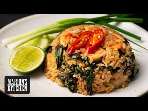 Spicy Thai Chilli & Basil Fried Rice - Marion's Kitchen