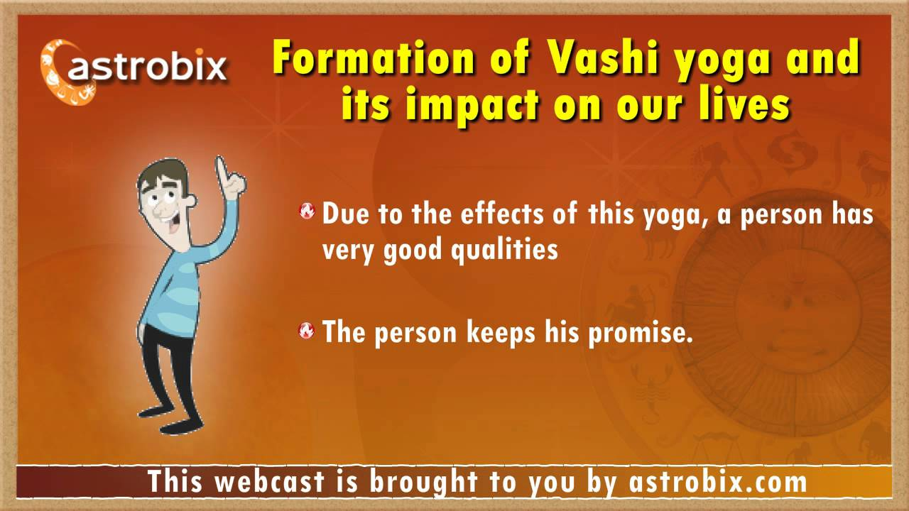 Formation of Veshi yoga and its effects
