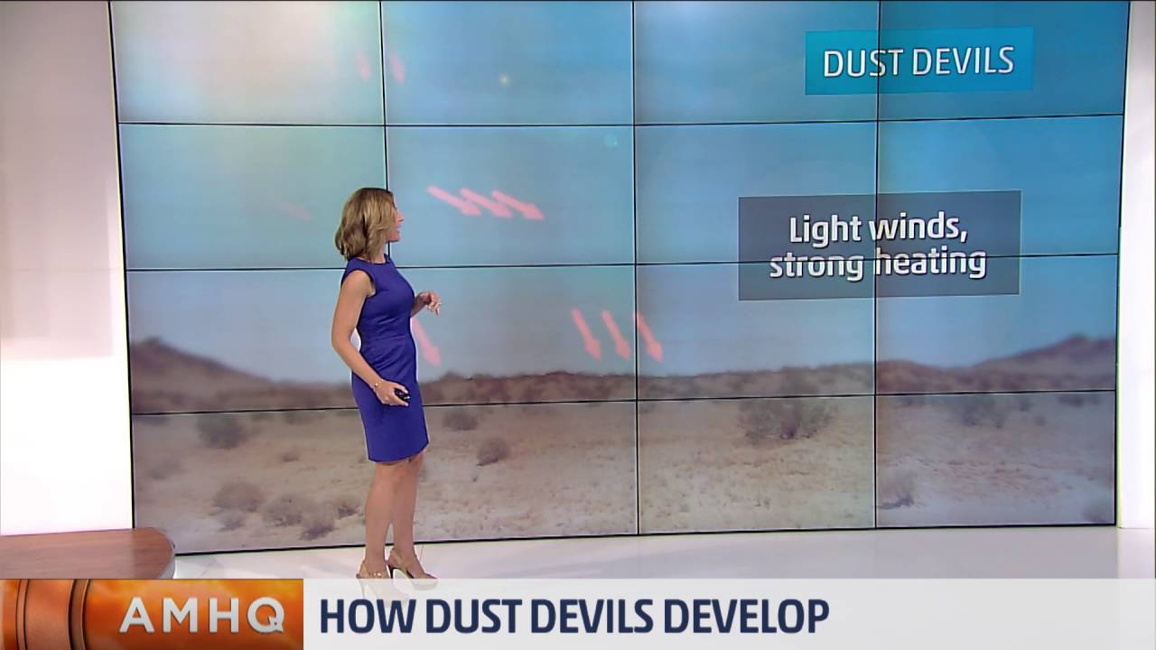 Do You Know How Dust Devils Form? - YouTube