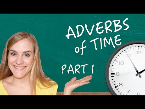 German Lesson (118) - Adverbs of Time - Part 1: Syntax - A2/B1