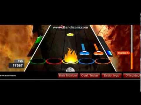Everton F. Guitar Flash - Holy Wars... The Punishment Due por Megadeth - Dificil-FC
