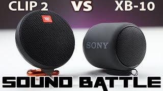 Sound Battle: SRS XB10 vs JBL CLIP 2 -The real sound comparison