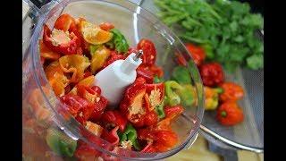 Bad A$$ Homemade Peppersauce (hot sauce) |  CaribbeanPot
