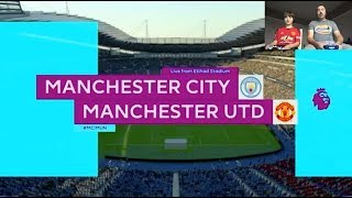 FIFA 19 PS4 | Manchester City v Manchester United | GAMEPLAY