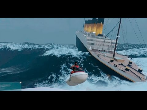 El Hundimiento del TITANIC en GTA V - MOD