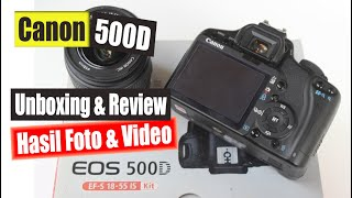 Review Canon EOS 500D | Rekome…