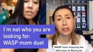 I'm not the one you are looking for: WASP Mom at Starbucks TikTok Duet