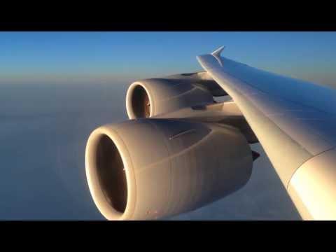 Lufthansa Airbus A380 Shanghai - Frankfurt (D-AIMI)