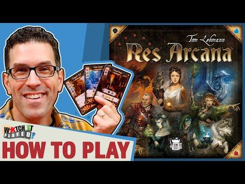 Res Arcana | Board Game | BoardGameGeek