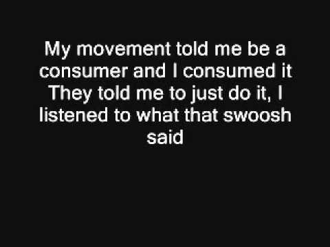 Macklemore - Wings Lyrics On Screen