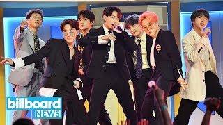 BTS Add Saudi Arabia Show to 'Love Yourself: Speak Yourself Tour' | Billboard News