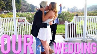 WE ACTUALLY GOT MARRIED!