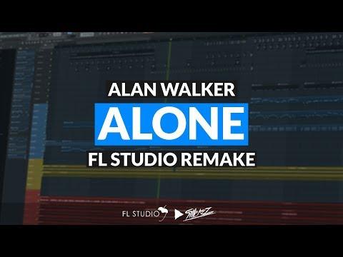 Alan Walker - Alone (Instrumental/FL Studio Remake)